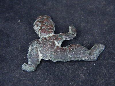 Ancient Bronze Figure Roman 200 BC No Reserve  #GL1624 7