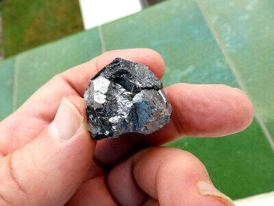 """Minerales"""" Extraordinarios Cristales Cubicos De Skutterudita De Marruecos-7D19 """" 4"""