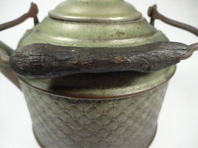 Cobre Antiguo Tetera (Platinated Acabado, Madera Mango) 5