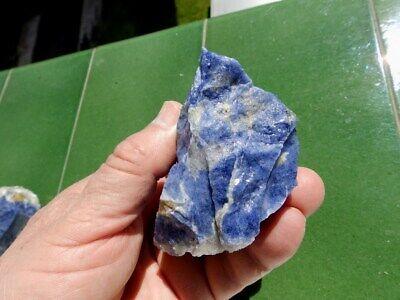 """Minerales """" Fantastico Mineral De Sodalita De Cerro Sappo Bolivia  -  3A19 """". 4"""
