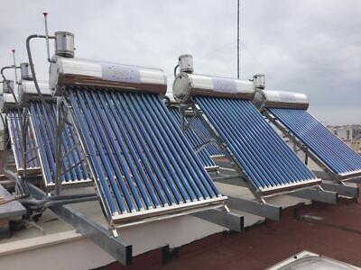 Pannello Solare Termico inox 18/10 Pressurizzato 200 Lt con scambiatore interno 4
