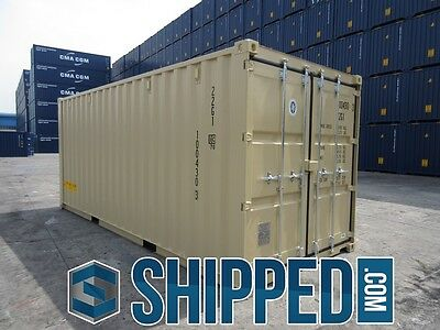 TUNNEL SHIPPING CONTAINER 20' DOUBLE DOORS SECURE STORAGE in Minneapolis, MN 9