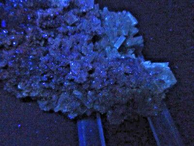 "Minerales""Extraordinarios Cristales Barita Azul Mina Moscona Asturias - 8A13"" 6"