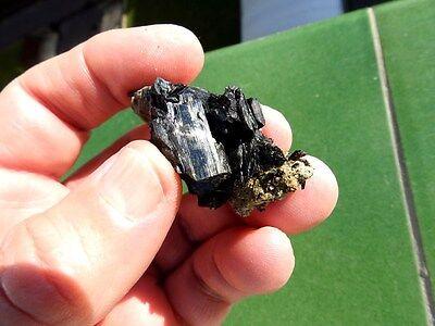 """Minerales """" Fabulosos Cristales De Ferroactinolita De Cuevas Del Campo -  1Ñ17 """" 2"""