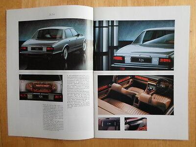 Jaguar Daimler Range 1990 Uk Mkt Opuscolo - Xj6 Monarca Xjs 3.6 5.3 V12