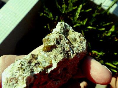 """Minerales """" Excelentes Cristales De Titanita De Marruecos  -  10B18 """" 2"""