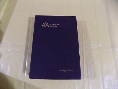 American Airlines Leather Drawstring Pouch 5