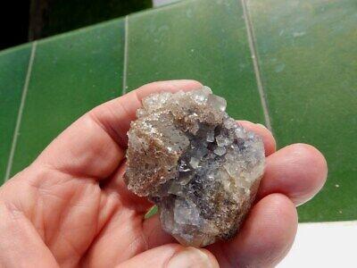 """Minerales """" Extraordinarios Cristales Cubicos De Fluorita De Marruecos - 2D19 """" 3"""