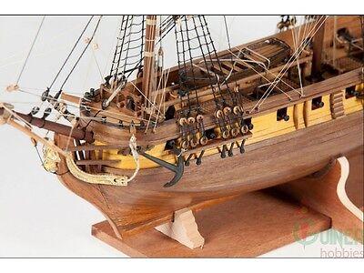 Elegant Intricately Detailed Corel Wooden Model Ship Kit