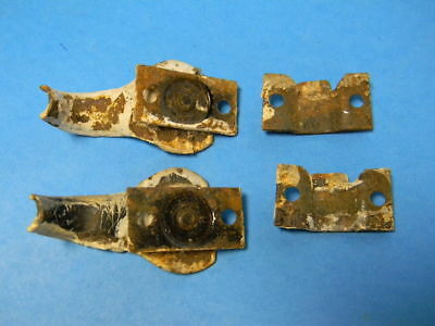 2 Vintage 1940'S-1950'S Antique Basement Window Sash Locks 2