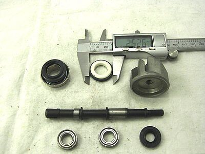 WATER PUMP SET  FOR SCOOTERS 250cc LIQUID COOLED MOTORS CF MOTO, LINHAI, JONWAY