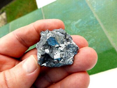 """Minerales"""" Extraordinarios Cristales Cubicos De Skutterudita De Marruecos-7D19 """" 2"""