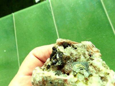 """Minerales """" Extraordinarios Cristales Arracimados De Epidota Marruecos - 10E18 """" 8"""