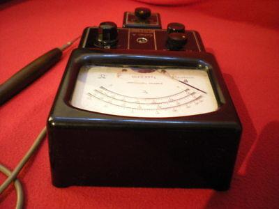 Ultrakust Thermometer Type 4410 Thermophil Antiguo termometro vintage baquelita 5