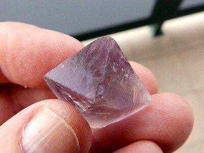 "Minerales "" Fabuloso Cristal Octaedrico De Fluorita De China  -  10G15 "". 2"