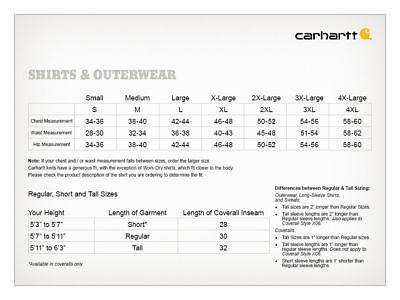 Carhartt - Men's Work Wear Pocket T-shirt, Cotton, Regular, Big, Tall Fit, K87
