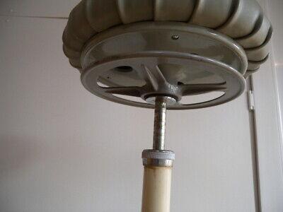 Seltener Ritter Arzt Hocker 20er Art Deco Kugelgelenk Bauhaus Stahlrohr Zahnarzt 7