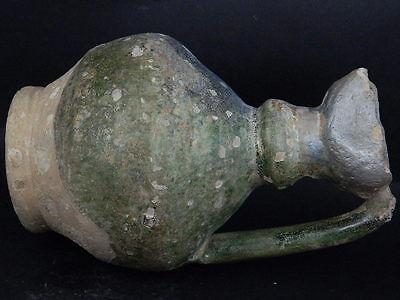 Ancient Large size Glazed Ewer Islamic 1200 AD No Reserve    #PT15167 11