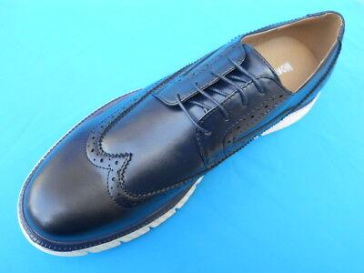 Scarpe Uomo Classiche Eleganti Francesine Blu - Nere Casual Sneakers
