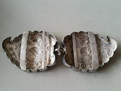 150 Years Old ANTIQUE OTTOMAN SILVER belt buckle WITH SULTAN ABDUL AZIZ TUGRA 7