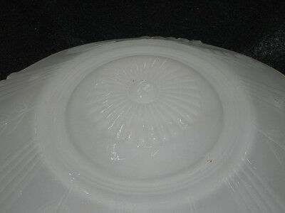 Vintage Light Globe, Ceiling Globe Pretty Frosted Glass 5