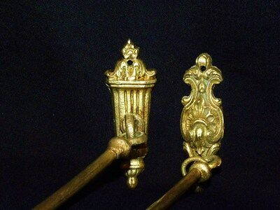 Antique Large Set of  French Tie backs Gilt Bronze Louis XVI Style 19Th. C 10