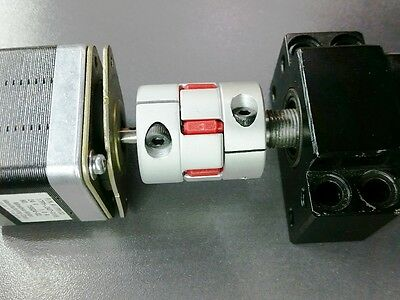 11 mm x 14 mm Flexible Jaw Spider Shaft Coupling CNC Stepper Motor Coupler Rare