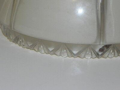 Vintage Light Globe, Ceiling Globe, Smaller Very pretty light tan beige & Clear 5