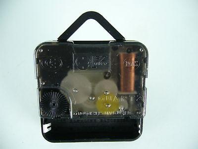 QUARTZ CLOCK MECHANISM SHORT SPINDLE 120mm BLACK BATON HANDS 2