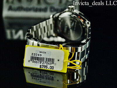 Invicta Men's 43mm Pro Diver SUBMARINER Brown Dial Silver Tone 200m SS Watch 4