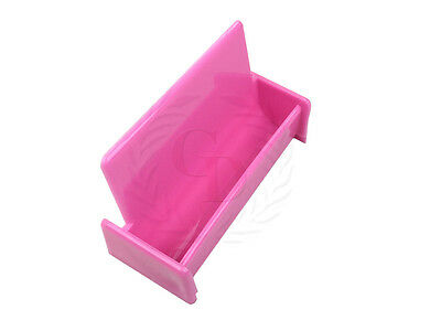Hot pink acrylic business card holder display stand for office desk 4 of 5 hot pink acrylic business card holder display stand for office deskcountertop colourmoves