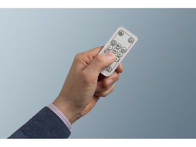 Termoventilatore Da Parete Ceramica Display Telecomando e Timer TC-SPD 2000 2
