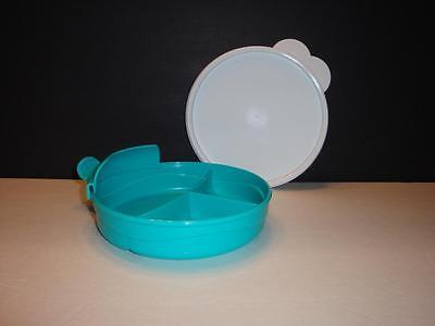... Tupperware Baby Stages Set Divided Dish & Formula Dispenser & Bowl Blue ...