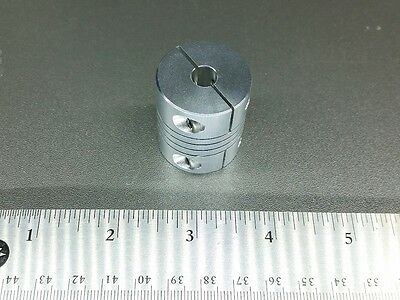 "14 x 5//8/"" 15.88 mm Large Aluminum Flexible Motor Shaft Clamp Coupler Coupling"