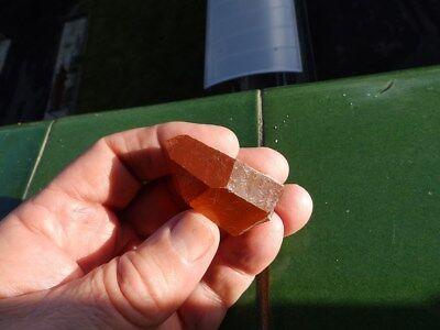 """Minerales """" Bonitos Cristales De Quarzo Rojo De Tafilalet(Marruecos)  -  1B19 """" 2"""