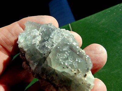 """Minerales """" Extraordinarios Cristales De Fluorita De Marruecos  -  1G17 """" 4"""