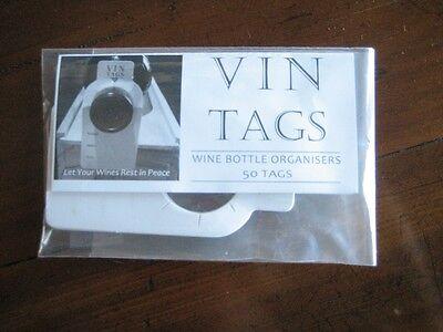 Wine Storage Tags - Vin Tags - 10 packs of 50 wine tags 8