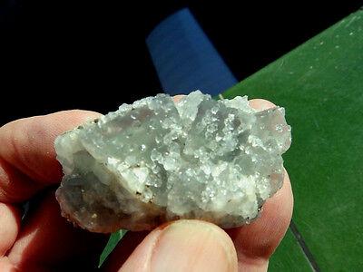 """Minerales """" Extraordinarios Cristales De Fluorita De Marruecos  -  1G17 """" 7"""
