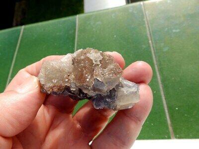 """Minerales """" Extraordinarios Cristales Cubicos De Fluorita De Marruecos - 2D19 """" 5"""