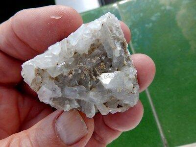 """Minerales """" Fabulosos Cristales Biterminados De Celestina  Pte.tablas  - 10G18 """" 2"""
