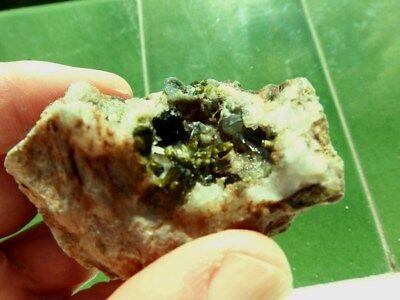 """Minerales """" Extraordinarios Cristales Arracimados De Epidota Marruecos - 10E18 """" 9"""