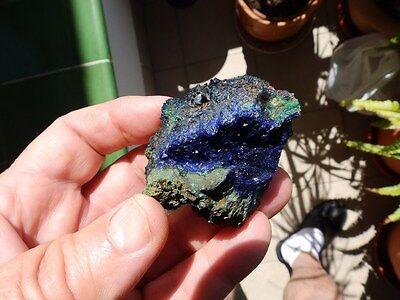 """Minerales"""" Extraordinarios Cristales De Azurita Kerrouchen(Marruecos)- 4A17 """" 7"""