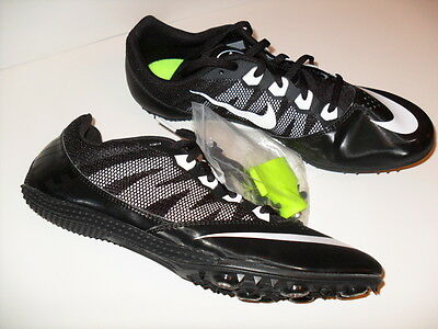 61bf8f6ef45 NEW MENS NIKE Zoom Rival S 7 Track Field Sprint Spike Shoes Black 616313-001