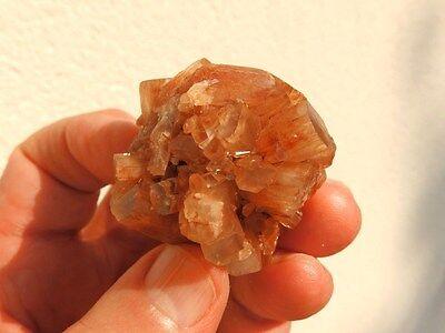 """Minerales """" Fabulosos Cristales De Aragonito Maclado De Marruecos  -  9C16 """". 3"""
