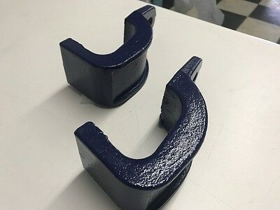 """3 Ton Sill Hook Straight Cut Tooth 2-1//2/"""" Pull Round Mo-Clamp style 2"""