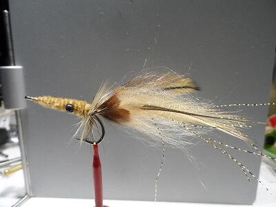Drum Jacks,Bones Snook Saltwater Flies Redfish EPC Fly  Size 4 Redfish