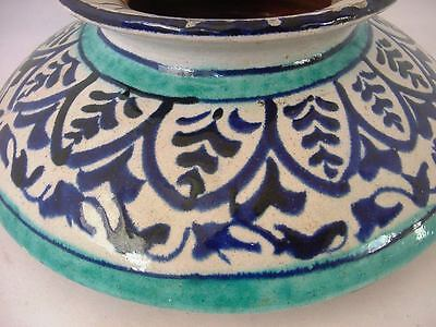 Antique Iznik Ottoman Turkish Pottery Pot Jar 3