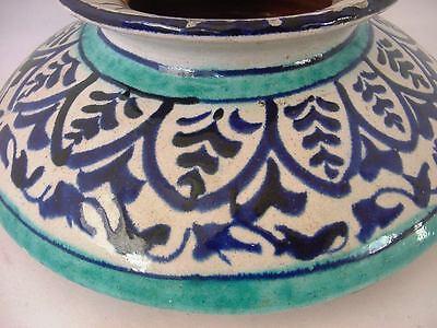 Antique Iznik Ottoman Turkish Pottery Pot Jar 3