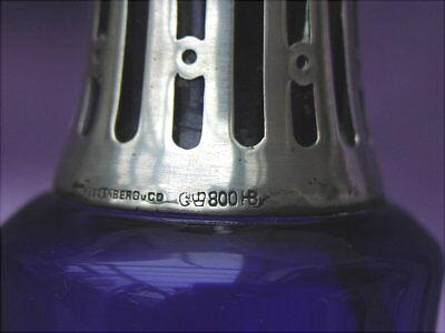 Rare alte Zigarrenlampe  Silber 800 HB Jugendstil um 1910