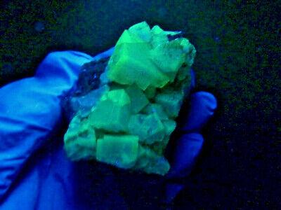 """Minerales """" Extraordinarios Cristales Cubicos De Fluorita De Marruecos - 2C19 """" 2"""